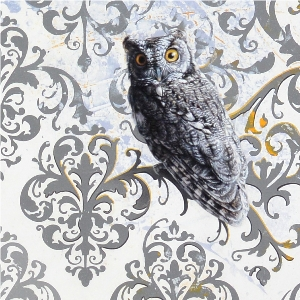 Screech Owls by Andrew Denman
