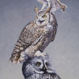 Owl Totem by Andrew Denman