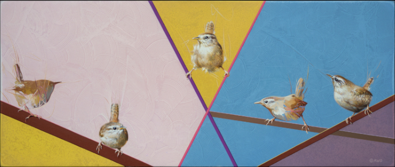 Wrens by Andrew Denman
